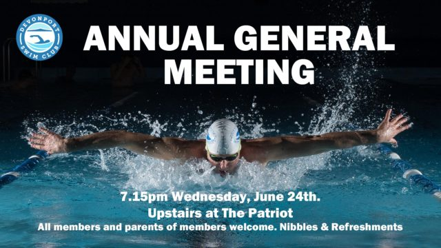 Devonport Swim Club AGM